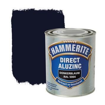 Hammerite Direct AluZinc metaallak donkerblauw 750 ml