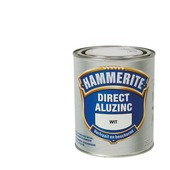Hammerite Direct AluZinc metaallak wit 750 ml