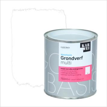 KARWEI grondverf waterbasis multi wit 750 ml