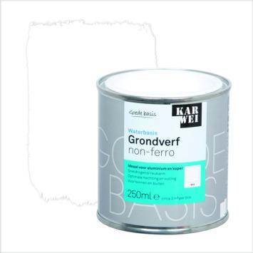 KARWEI grondverf waterbasis non-ferrometaal wit 250 ml
