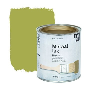 KARWEI metaallak zijdeglans goud 750 ml
