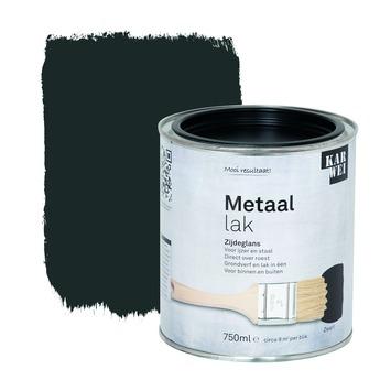 KARWEI metaallak zijdeglans zwart 750 ml