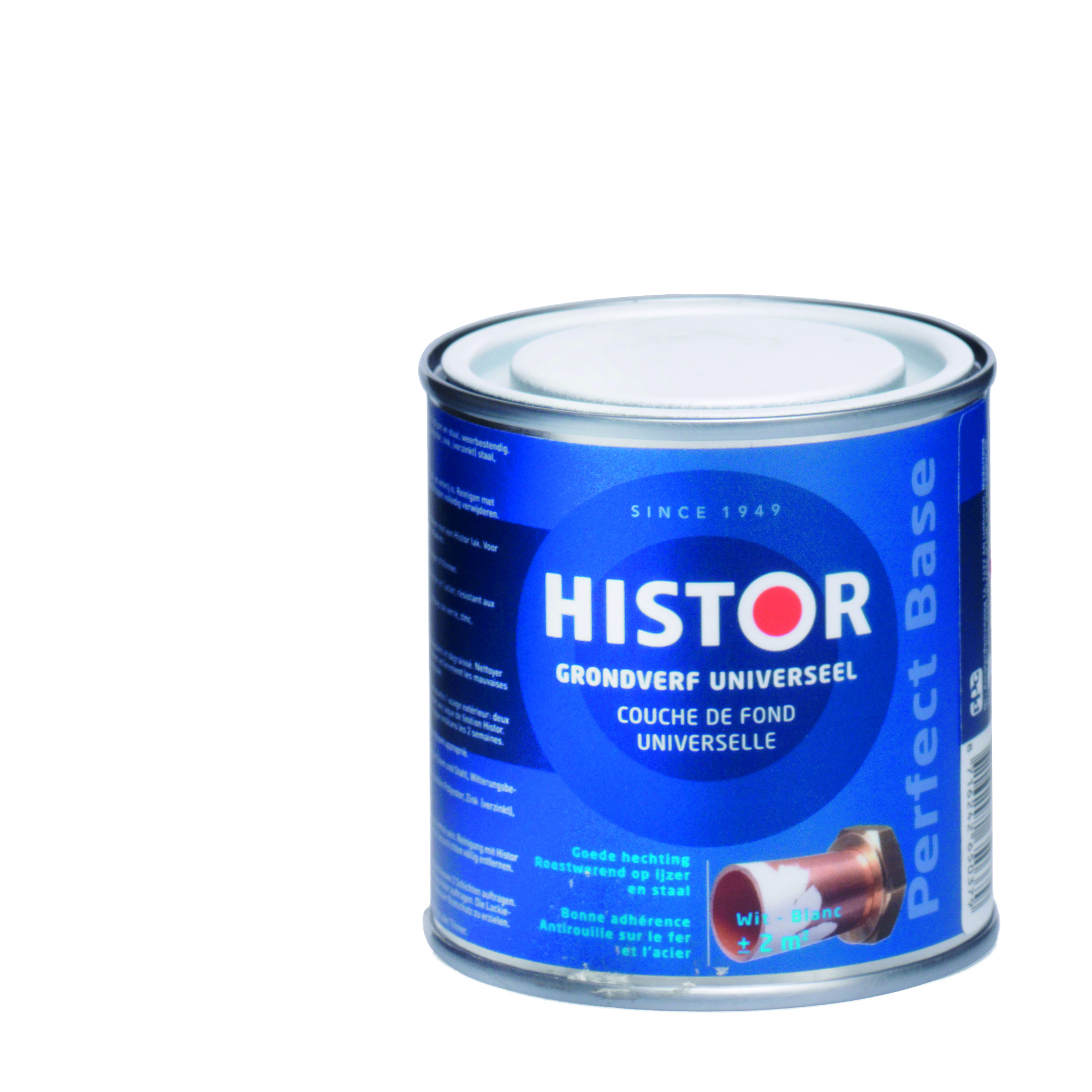 Histor perfect base grondverf universeel wit 250 ml