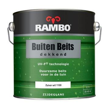 Extreem Rambo buitenbeits zuiver wit dekkend 2,5 l kopen? | KARWEI LN27