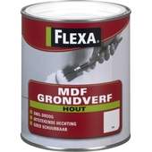 Flexa hout mdf grondverf wit 2,5 l