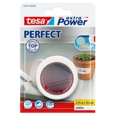 Tesa Extra Power perfect textieltape 2,75mx19mm wit
