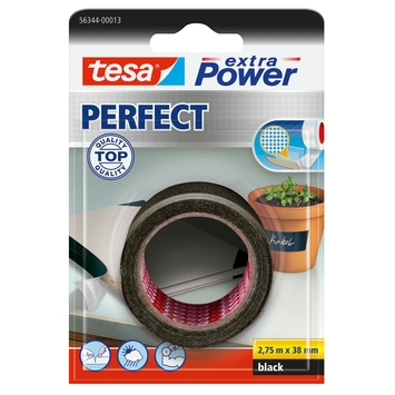 Tesa Extra Power perfect textieltape 2,75mx38mm zwart