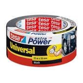 Tesa Extra Power reparatietape 25mx50mm zwart