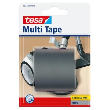 Tesa Multi Tape PVC 5mx50mm grijs