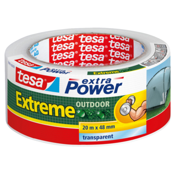 Tesa Extra Power reparatietape extreme outdoor 20mx48mm transparant