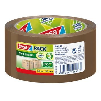 Tesa Eco verpakkingstape 66mx50mm bruin