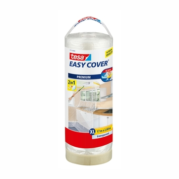 Tesa Easy Cover XL 2-in-1 afdekfolie navulling 17mx2,6m