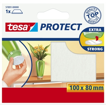 Tesa Protect vilt 8cmx10cm wit