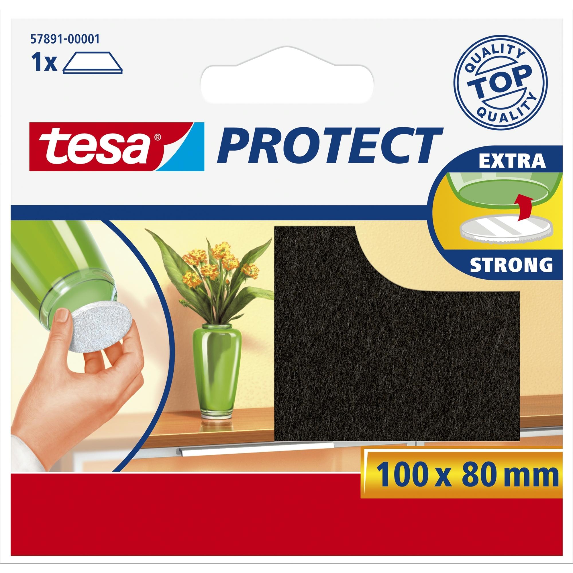 Tesa Protect vilt 8cmx10cm bruin
