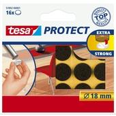 Tesa Protect vilt 18mm bruin 16 stuks