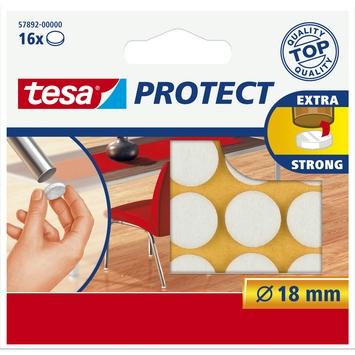 Tesa Protect vilt 18mm wit 16 stuks