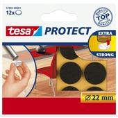 Tesa Protect vilt 22mm bruin 12 stuks