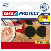 Tesa Protect vilt 26mm bruin 9 stuks