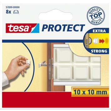 Tesa Protect vilt 10mmx10mm wit 8 stuks