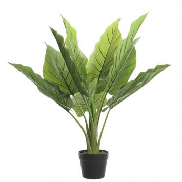 Kunstplant blad groot in pot
