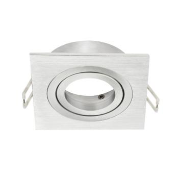 KARWEI inbouwspot richtbaar vierkant aluminium