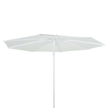 Parasol Port-au-Prince Wit Ø300 cm