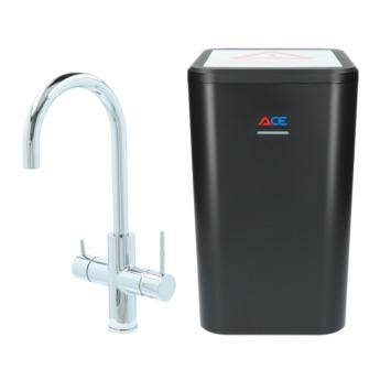 Handson Ace 3-in-1 kokendwaterkraan Chroom incl. 4 liter boiler