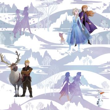 Vliesbehang Frozen Scene (dessin 108238)