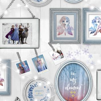 Vliesbehang Frozen frames (dessin 108239)
