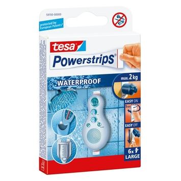 Tesa Powerstrips waterproof strips 6 stuks