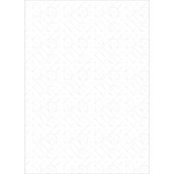 Fotobehang folding paper white (dessin 107335)