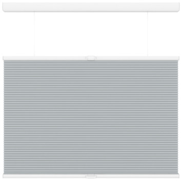 KARWEI plisségordijn koordloos top down bottom up licht grijs (6006) 60 x 180 cm (bxh)