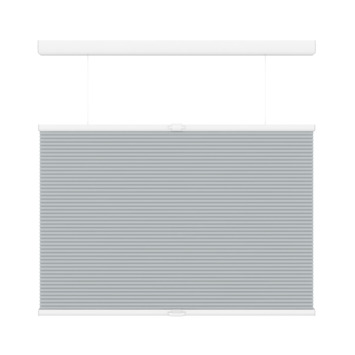 KARWEI plisségordijn koordloos top down bottom up licht grijs (6006) 80 x 180 cm (bxh)