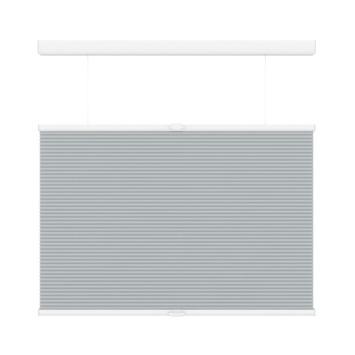 KARWEI plisségordijn koordloos top down bottom up licht grijs (6006) 140 x 180 cm