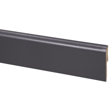 CanDo muurplint zwart 240 cm