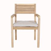 houten strandstoel karwei