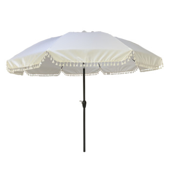 Parasol Marrakesh Wit Ø250 cm