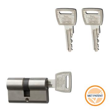 NEMEF veiligheidscilinder 30/30 mm SKG 3-sterren