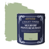 Rust-oleum chalky finish muurverf krijtmat kakigroen 2,5 liter