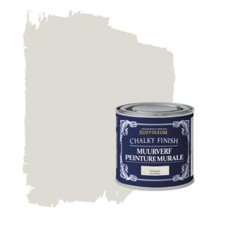 Rust-oleum chalky finish muurverf wintergrijs kleurtester 125 ml