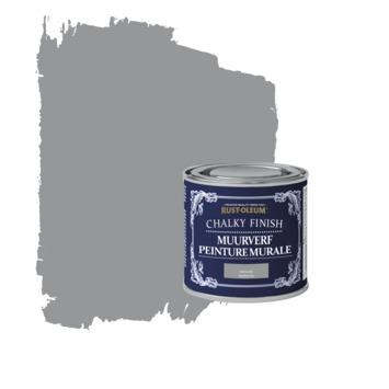 Rust-oleum chalky finish muurverf antraciet kleurtester 125 ml