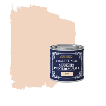 Rust-oleum chalky finish muurverf macaron kleurtester 125 ml