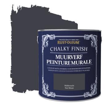 Rust-oleum chalky finish muurverf krijtmat middernacht 2,5 liter