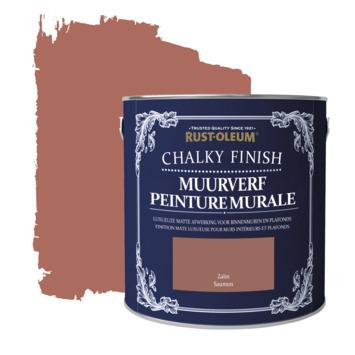 Rust-oleum chalky finish muurverf krijtmat zalm 2,5 liter