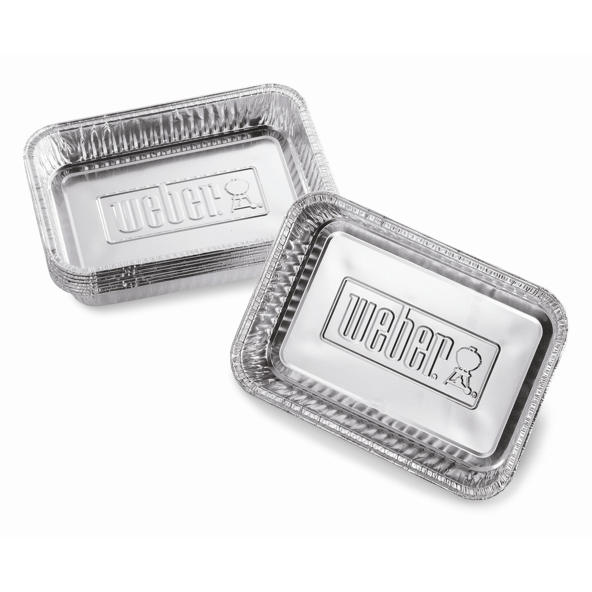 Weber Aluminium Lekbakjes 10 stuks Klein