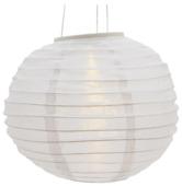 Chinese lampionverlichting solar 28 cm wit