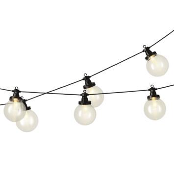 Feestverlichting Jar LED bollen 10 cm