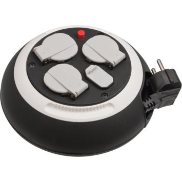 Brennenstuhl Kabelbox 3-voudig + USB 3 Meter