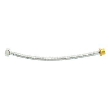 "Flexibele slang 1/2"" wartel 1/2"" buitendraad 30 cm"