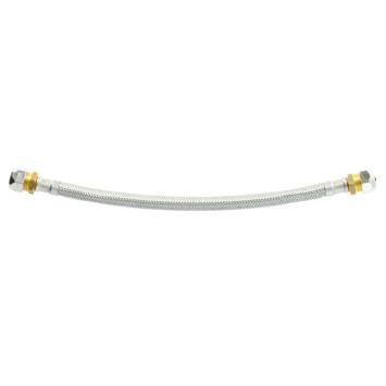 Flexibele slang (knel x knel) 10 mm x 12 mm 30 cm